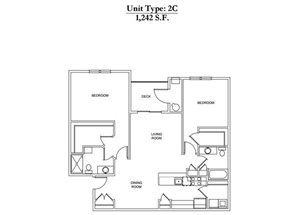2 Bed 2 Bath 2C Call for Pricing