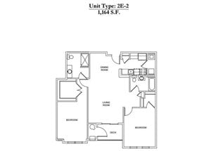 2 Bed 2 Bath 2E-2 Call for Pricing