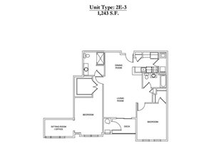 2 Bed 2 Bath 2E-3 Call for Pricing