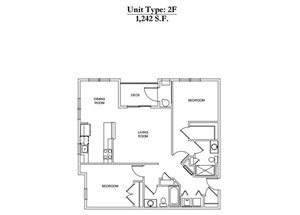 2 Bed 2 Bath 2F Call for Pricing