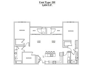 2 Bed 2 Bath 2H Call for Pricing