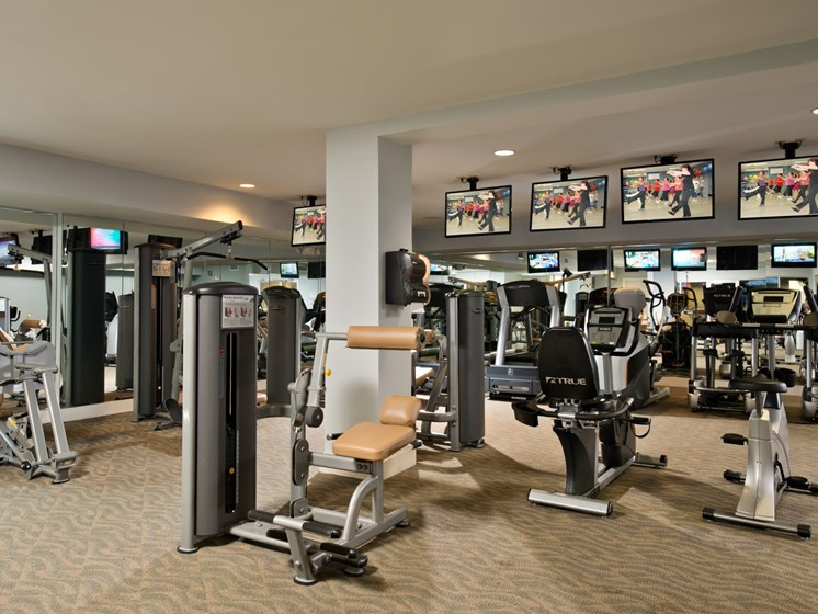 Fully Equipped Fitness Center at Alexander at Patroon Creek, Albany, NY