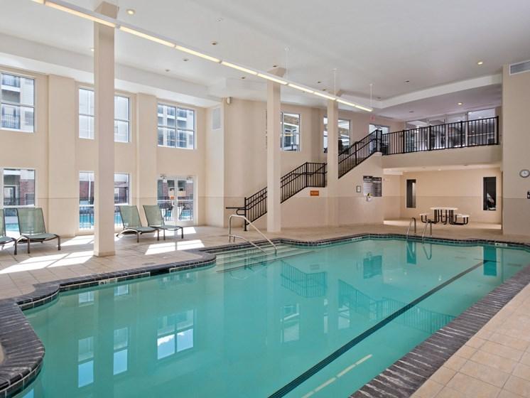 Indoor pool at Alexander at Patroon Creek, Albany, 12206