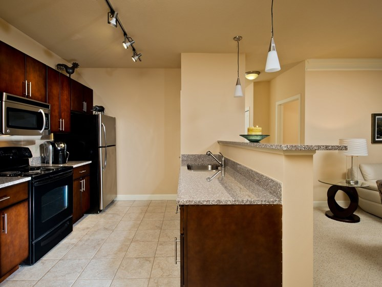 Stainless appliances at Alexander at Patroon Creek, Albany, New York
