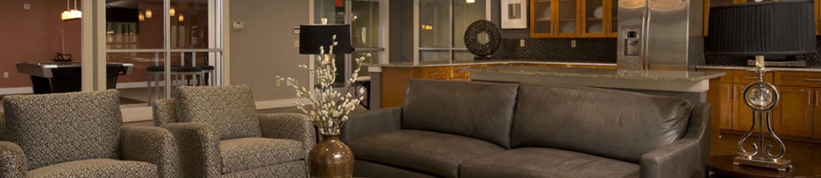 Modern Furnishings at Alexander at Patroon Creek, Albany, New York