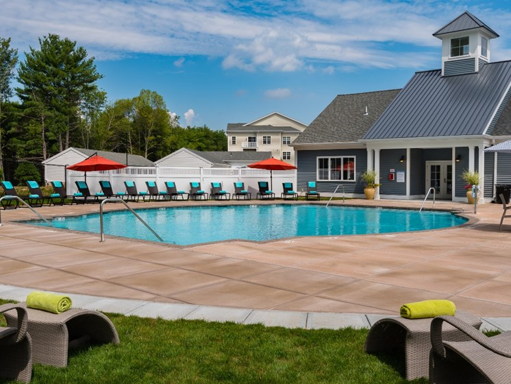 Resort Inspired Pool with Sundeck at East Main, Norton