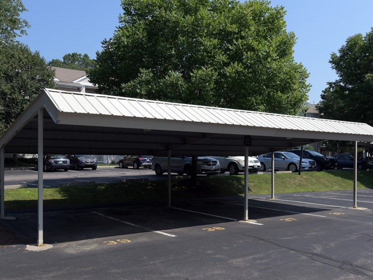 Covered Parking at Cumberland Crossing, Cumberland