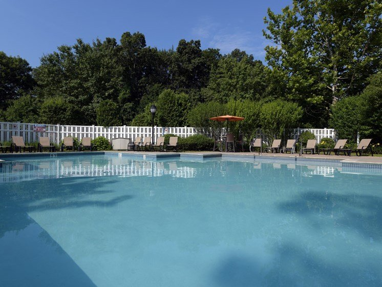 Large Swimming Pool with Sundeck at Cumberland Crossing, Cumberland, Rhode Island