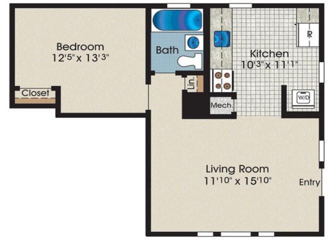 A1A Floor Plan 1