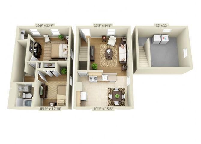 B1A Floor Plan 2
