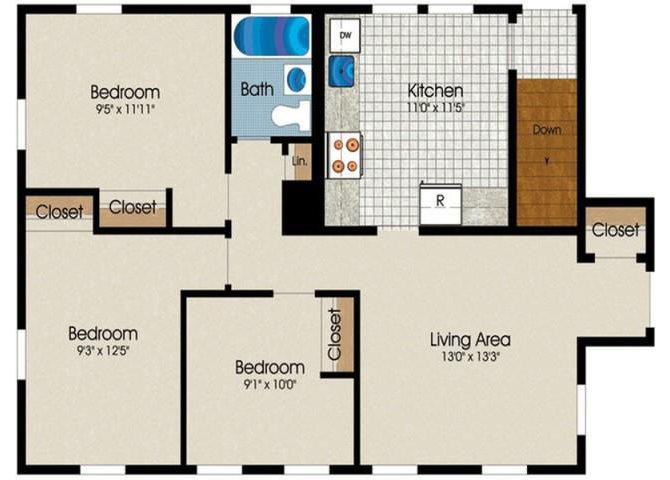 C1A Floor Plan 3
