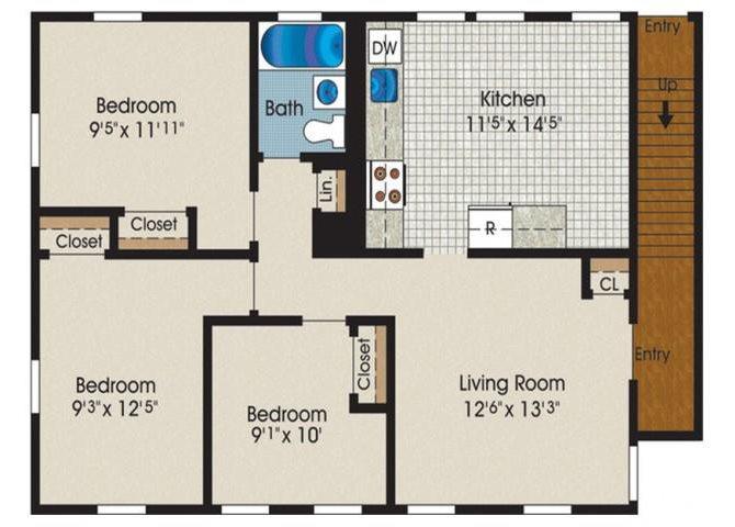 C1B Floor Plan 4