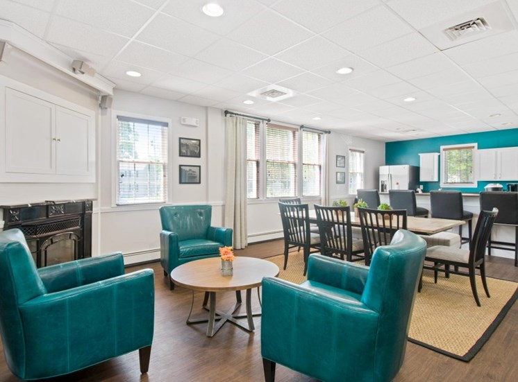 Beautifully Remodeled Clubhouse with Fully-Equipped Kitchen at Redbank Village, South Portland, Maine