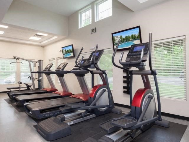 Cardio Equipment in Fitness Center at Union Place, Franklin, Massachusetts