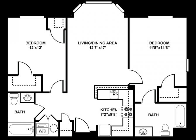BACK BAY Floor Plan 3