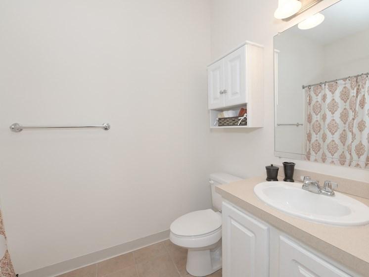Bathroom at Union Place, Franklin, MA