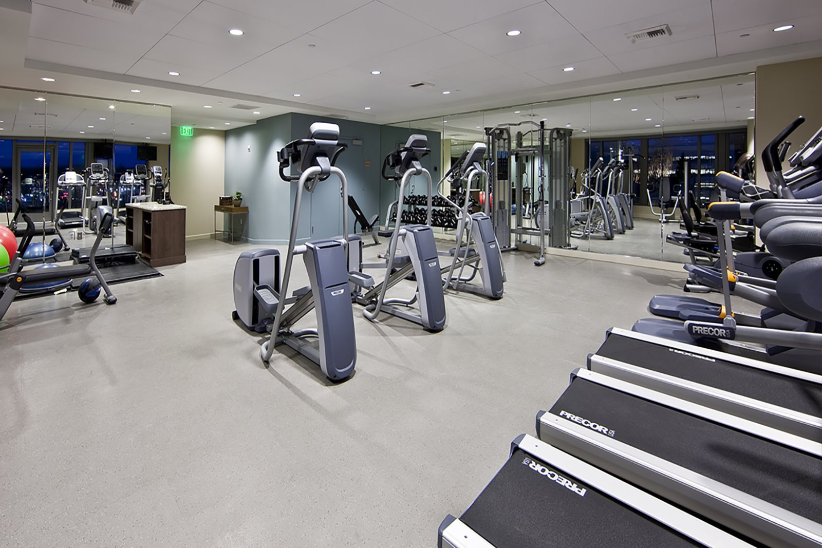 State of the Art Fitness Center at The Bravern in Bellevue, WA