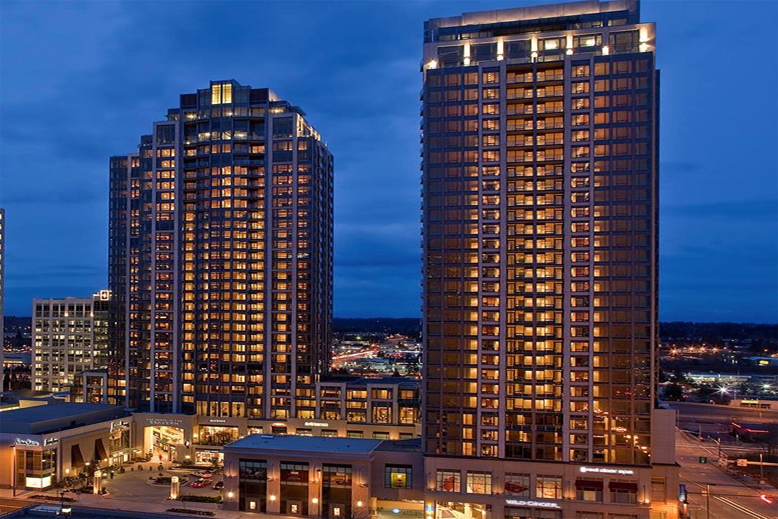 Downtown Bellevue, WA Luxury Apartments at the Braverm