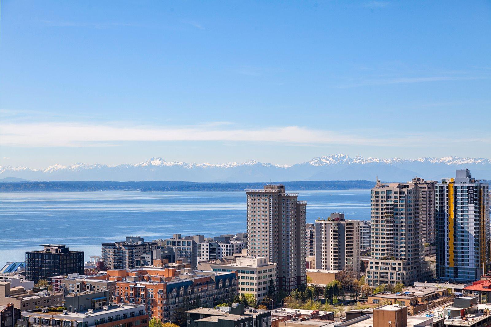 Panoramic Views at The Martin, Seattle, 98121