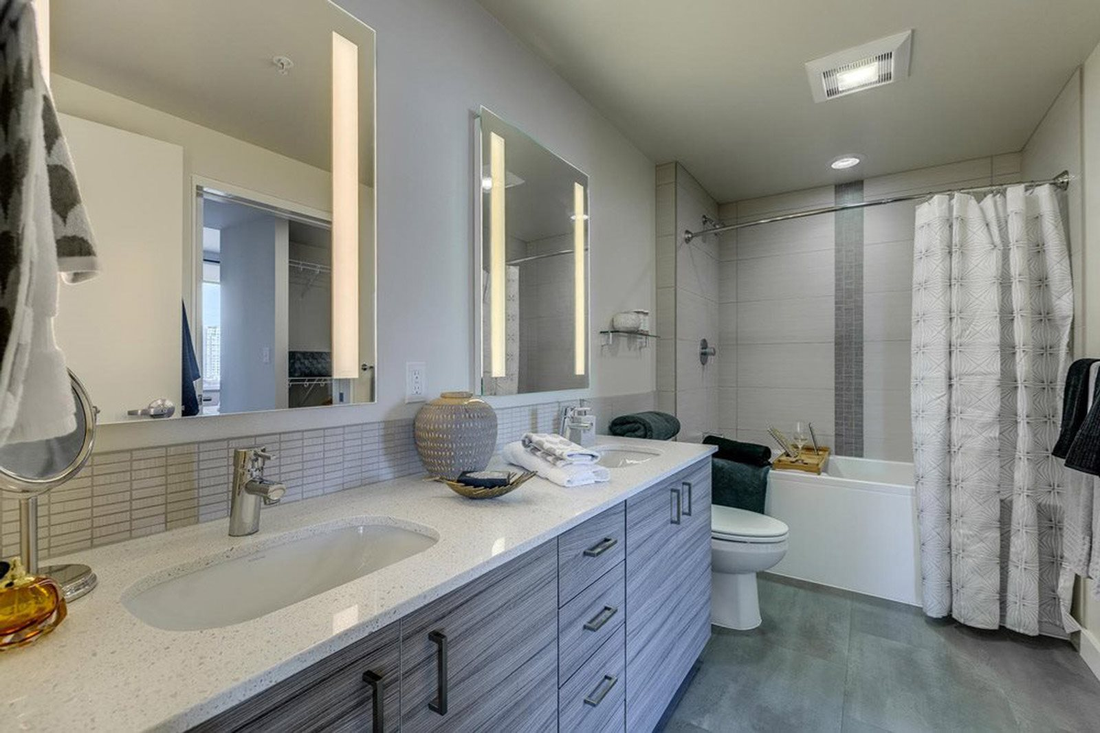 Master Bath at The Martin, Washington, 98121