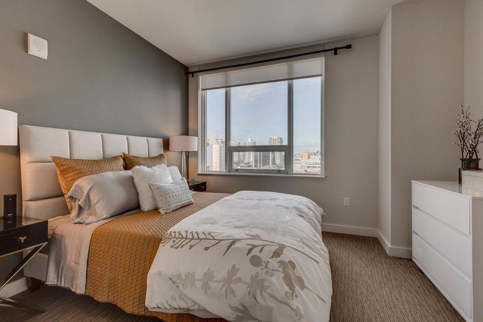 Master Bedroom at The Martin, Seattle, Washington
