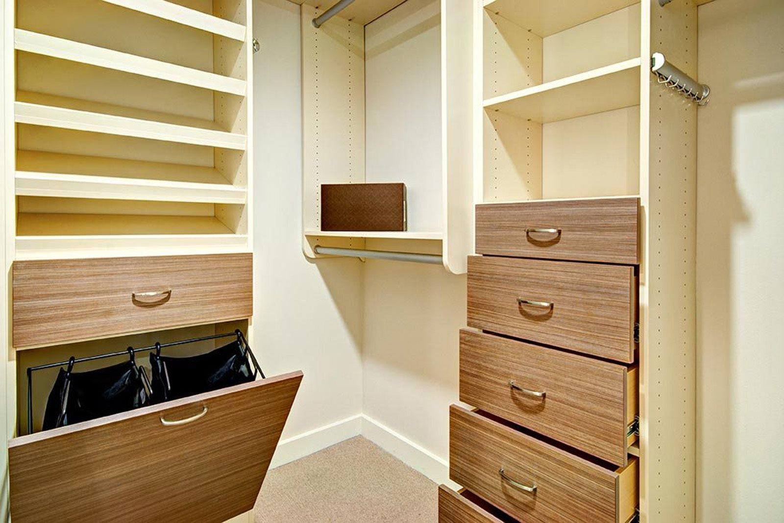 Master Closet at The Martin, Seattle, WA
