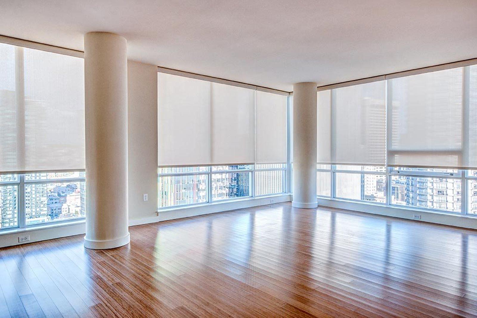 Floor to Ceiling Window at The Martin, Washington, 98121