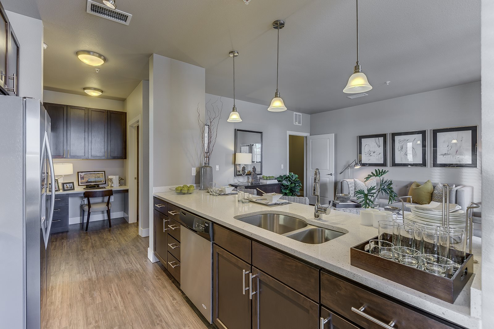 Fully Equipped Kitchens at Retreat at the Flatirons, Broomfield, 80020