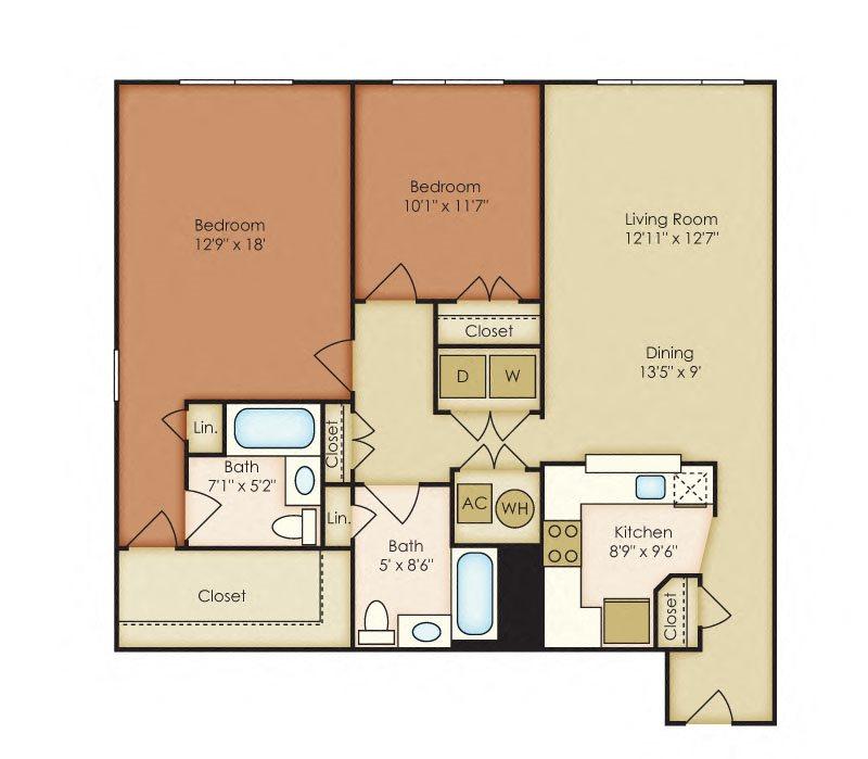 Keats Floor Plan 15