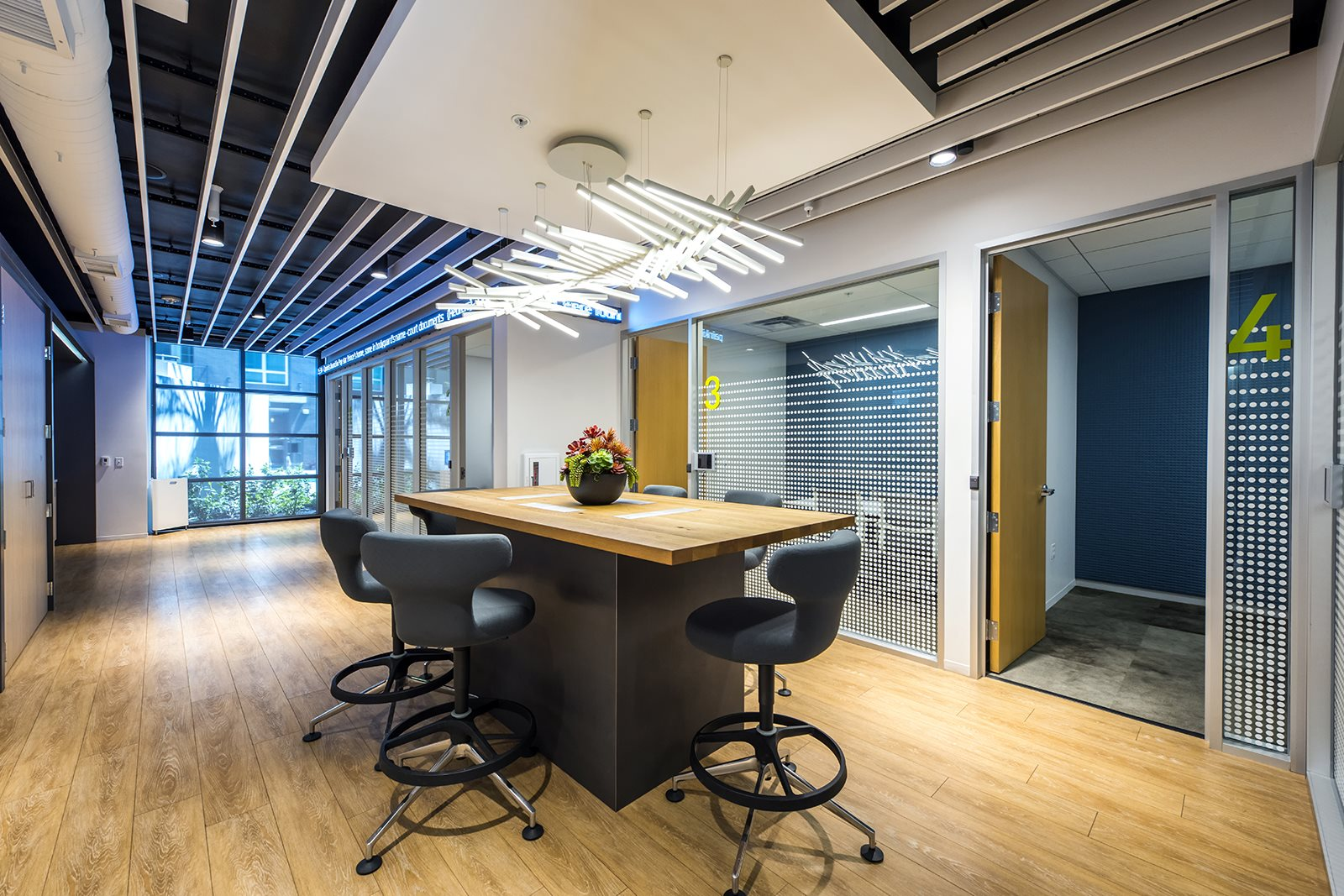 Airy Co-Working Room at Malden Station by Windsor Apartments