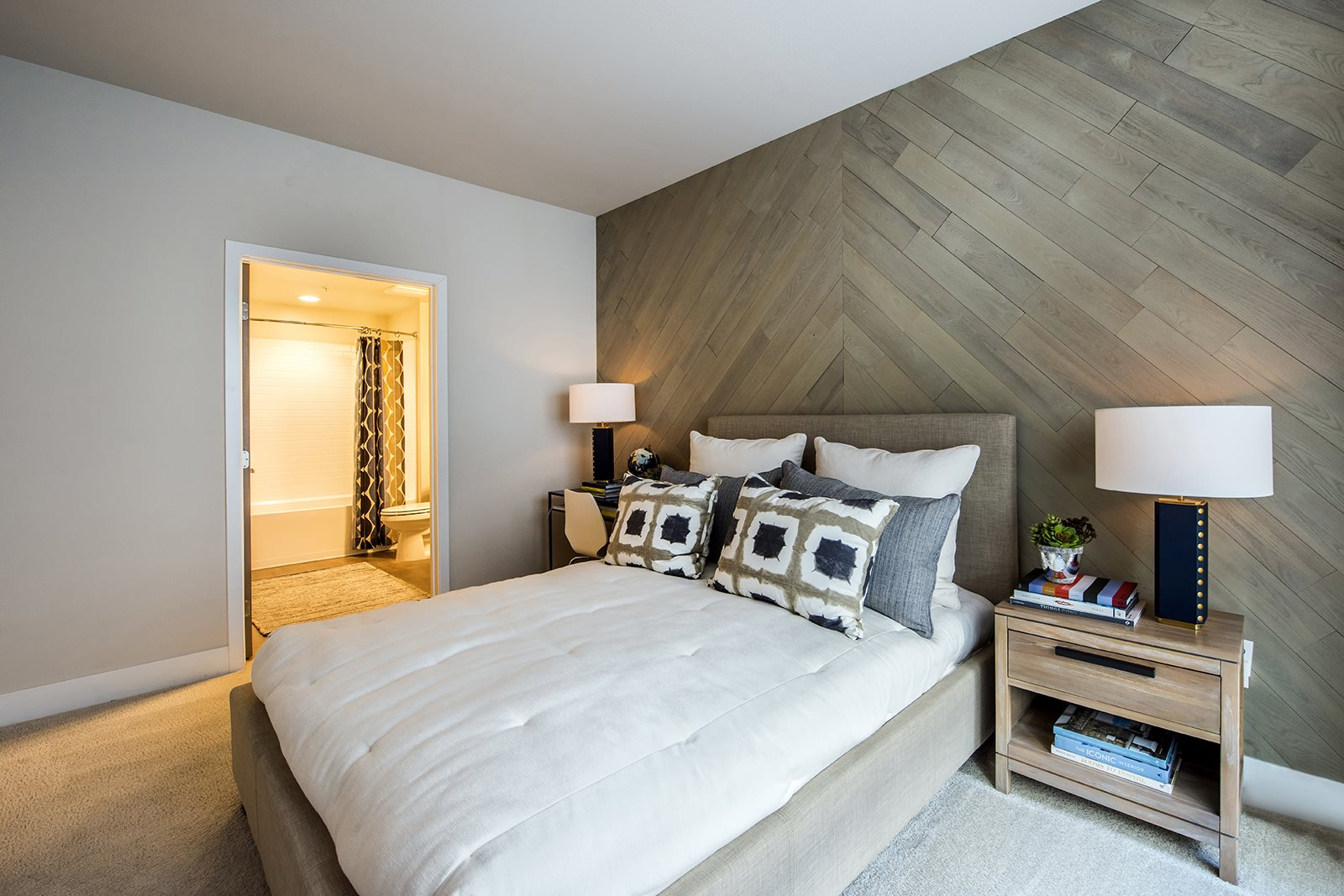 Spacious Bedroom- Malden Station by Windsor Luxury Apartments