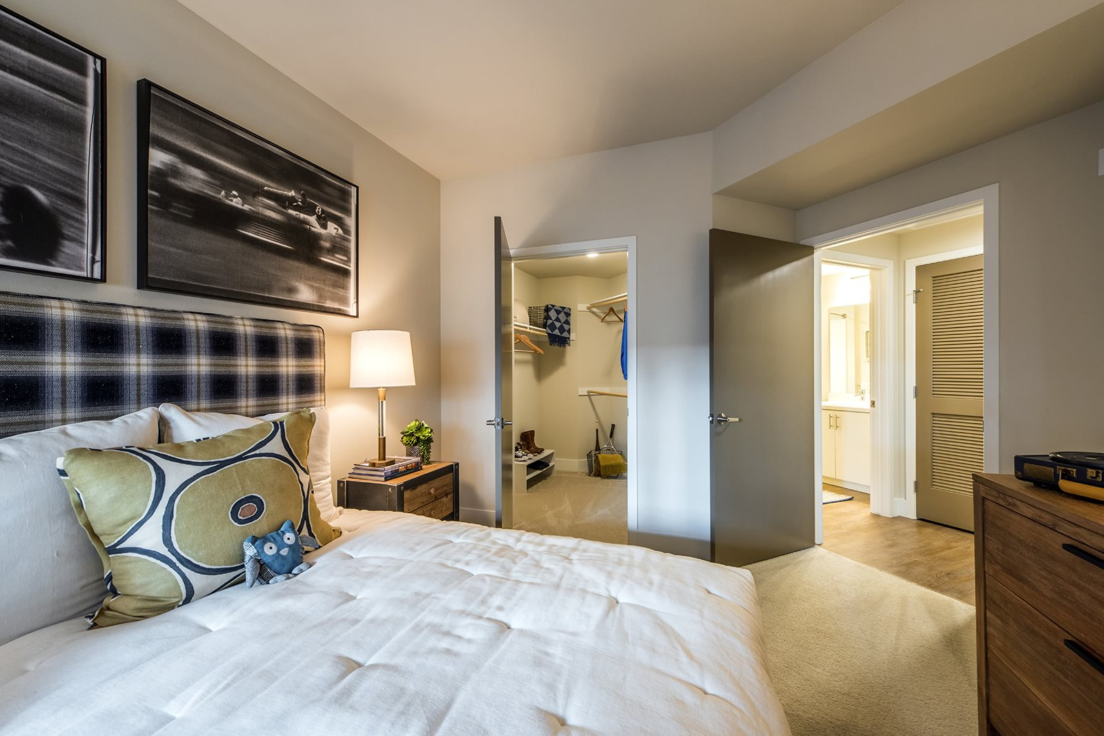 Bedrooms with Large Walk-in Closets- Malden Station by Windsor