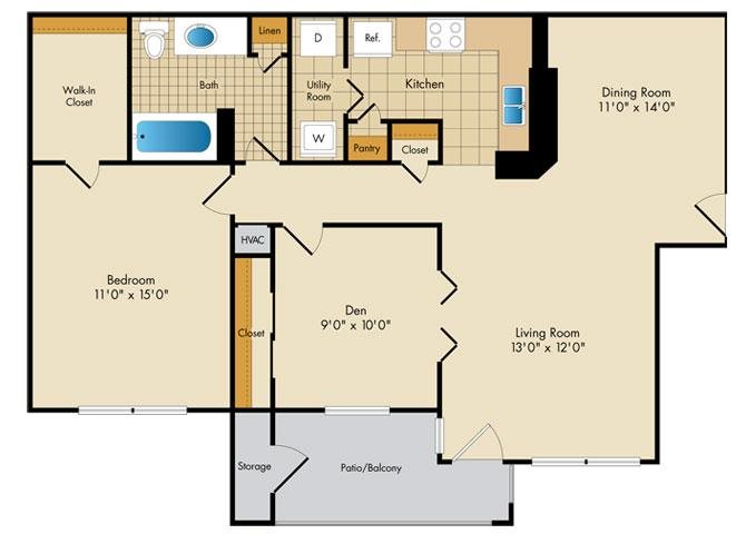 Preakness Floor Plan 3