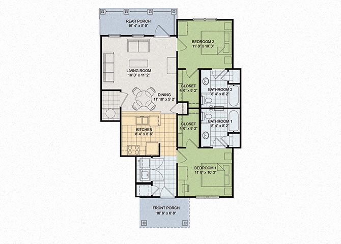 Maple Floor Plan 6