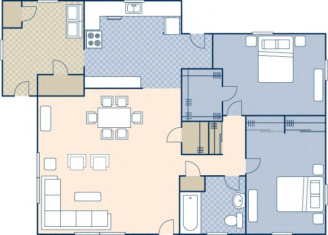 South Lieber Heights 1091 Floor Plan 56