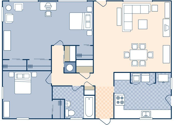 South Lieber Heights 1045 Floor Plan 54