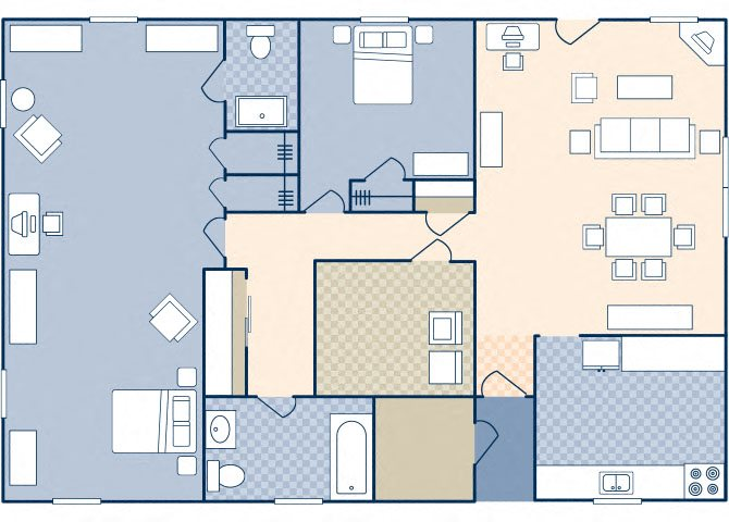 South Lieber Heights 1058 Floor Plan 58
