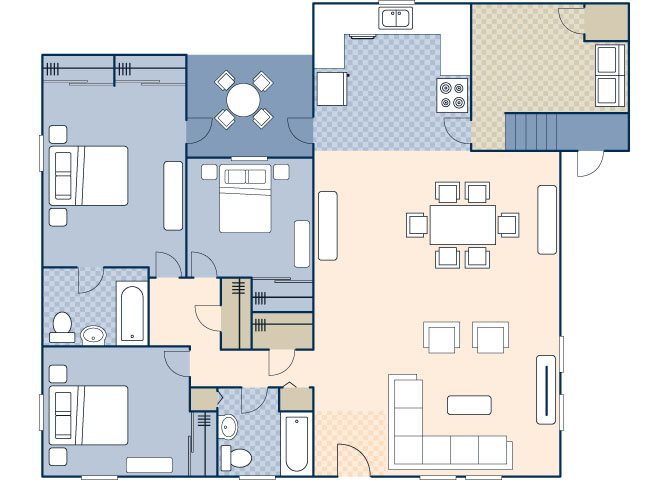 South Lieber Heights 1358 Floor Plan 63