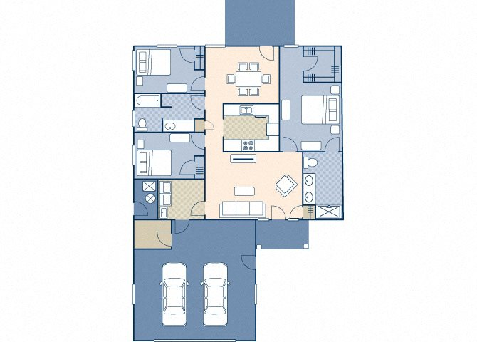 Eagle Point 1672 Floor Plan 1