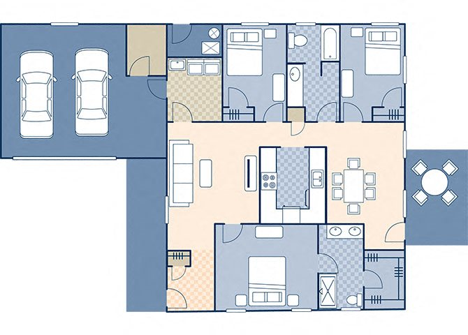 Eagle Point 1716 Floor Plan 2