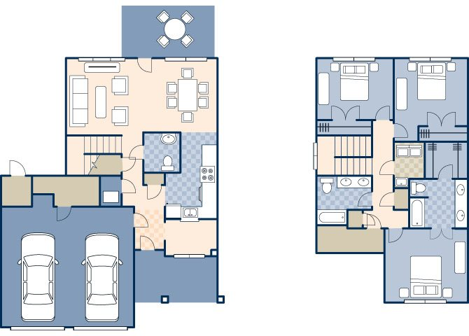Woodlands 1698 Floor Plan 72