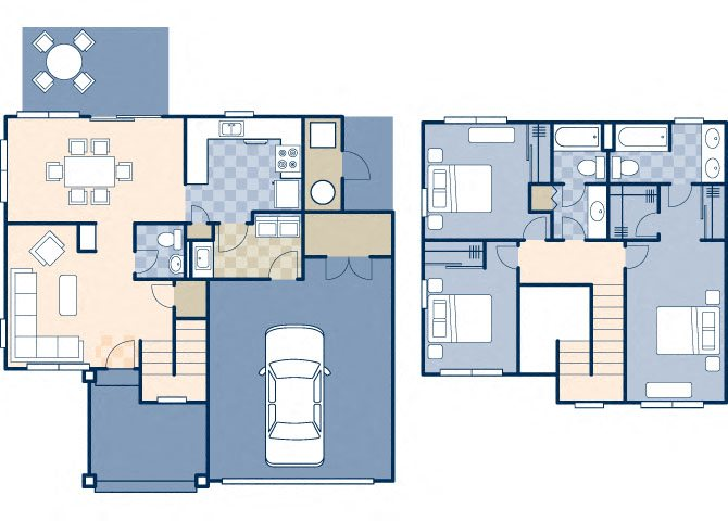 North Stonegate 1861 Floor Plan 16