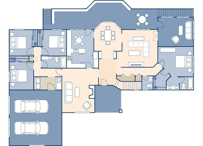 Piney Hills 5224 Floor Plan 48