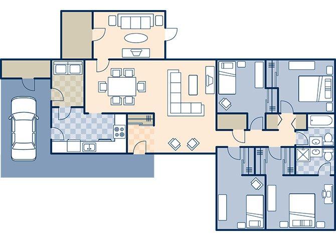 Wilson Acres 1464 Floor Plan 24