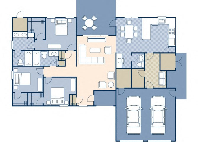Columbia 1650 Floor Plan 1