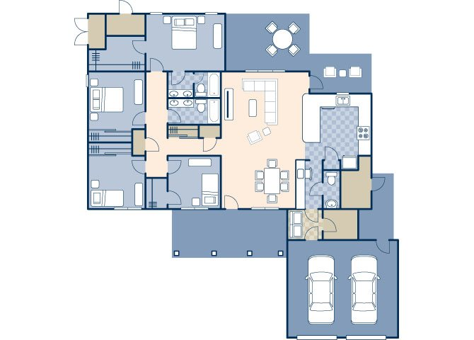 Columbia 2069 Floor Plan 6