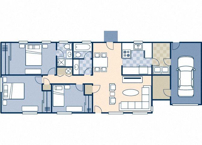 Trinity 1350 A Floor Plan 22