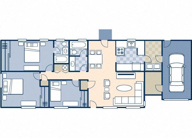 Trinity 1350 B Floor Plan 23