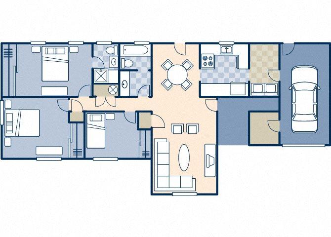 Trinity 1370 Floor Plan 24