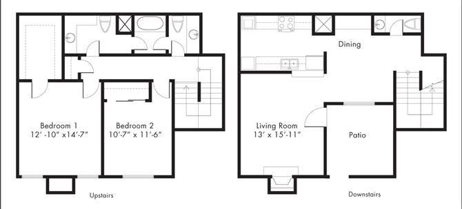 Floor Plan at Aviare Place, Texas